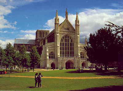 This is Winchester Cathedral !!