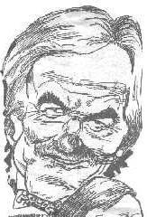 Caricature of Des Lynam - or is it ??